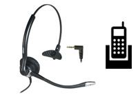 Schnurgebundene Headsets für Schnurlos-Telefone (DECT)