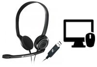 SSchnurgebundene Headsets für PC & Mac