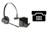 Schnurlose Headsets ausschließlich für Tischtelefone
