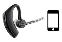 Schnurlose Headsets für Smartphones