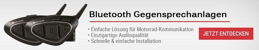 Gegensprechanlagen & Headsets für Motorräder
