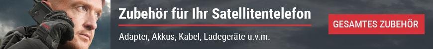 Zubehör für Ihr Satellitentelefon