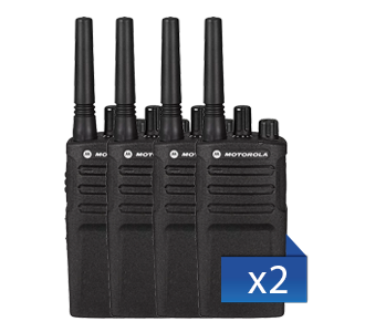 8er Set Motorola XT420