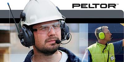 Gehörschutz Funkgeräte mit integriertem Headset