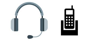 Schnurlose Headsets für schnurlose Telefone